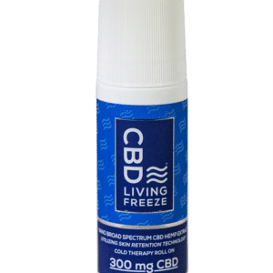 300 mg CBD Living Freeze Roll On
