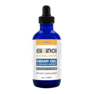 Full Spectrum CBD Oil Drops 3600MG CBD Natural