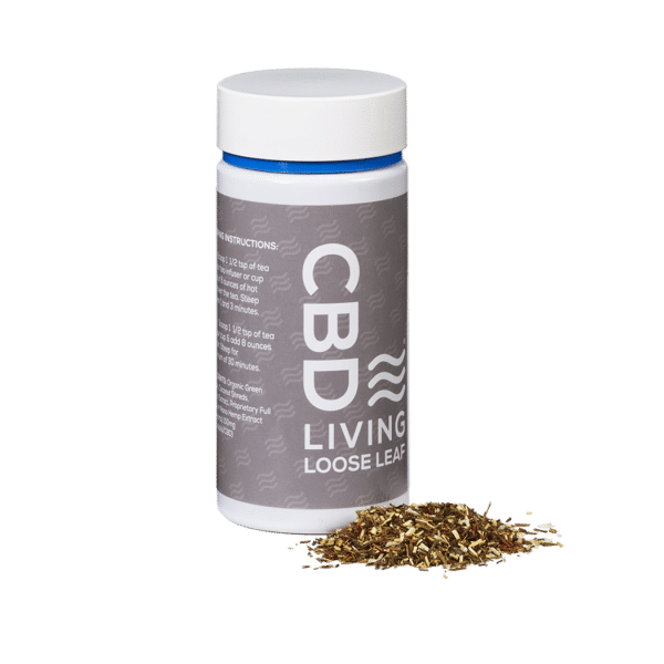 CBD_Living_New_Loose_Tea_Coconut_Herbal_3qtr_lft_prod