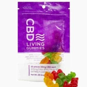 CBD Living Gummies 100 Mg