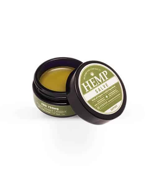 CBD BODY SALVE WITH (750MG CBD)