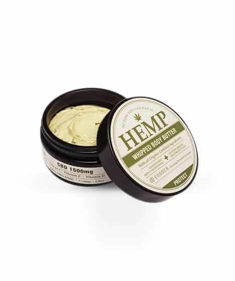 HEMP WHIPPED BODY BUTTER 1500MG CBD