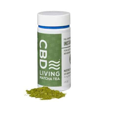 CBD Living Matcha Green Tea 150 Mg
