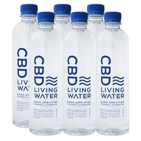 CBD Living Water-6 Bottles