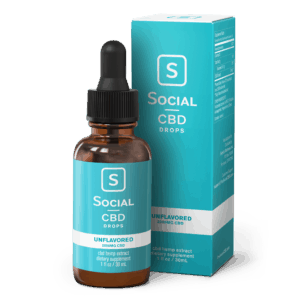 Social unflavored CBD 2000 mg